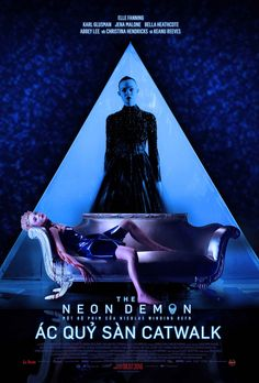 """The Neon Demon"" Vietnamese movie poster"