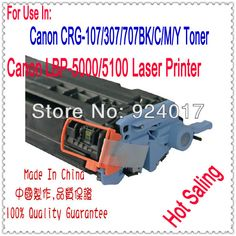 Cartridge For Canon LBP 5000 5100 Printer,Use For Canon Cartridge CRG-107 CRG-307 CRG-707 CRG307,LBP 5100 Parts For Canon Copier