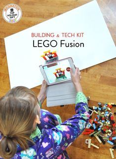 Combining the best of building and technology, the LEGO Fusion Town Master Kit became our new favorite LEGO toy. The kit gave them opportunities to be creative, inventive, and play for hours.
