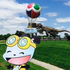 PandaOki at WORLDS OF FUN!!!@worldsoffun @worlds of fun #adventures #ComicGate #kids #family #childrensbooks #pandaoki #art #books #anime #fun #love #read #bookclub #authors #readers #unplug #pandas #IndieAuthor #libraries #happy #panda #photobomb #worldsoffun #wof #kansascity #amusementpark