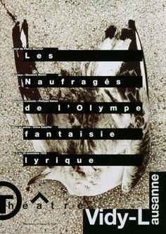 Les naufragés de l'Olympe - Fantaisie lyrique - Vidy-Lausanne – Objekte – eMuseum