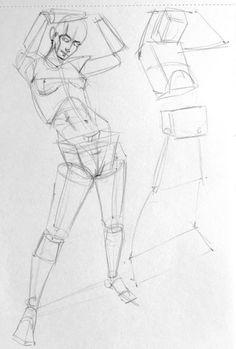 42 Human Figure Pencil Drawing Ideas - New Human Anatomy Drawing, Gesture Drawing, Body Drawing, Drawing Skills, Drawing Poses, Drawing Techniques, Life Drawing, Drawing Ideas, Drawing Art
