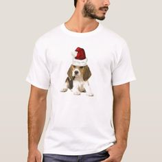 Ditzy Dogs~Original Tee~Beagle~Christmas T-Shirt  bluetick beagle, puppy illustration, labrador puppy golden #pet #cats #catdogs, back to school, aesthetic wallpaper, y2k fashion Beagle Funny, Beagle Dog, Beagle Gifts, Dog Gifts, Christmas Dog, White Elephant Gifts, Pets, Pet Cats, Fitness Models