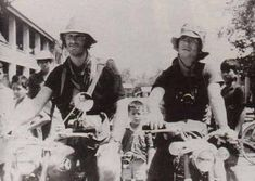 Sean Flynn & Dana Stone: last known photograph of them before they disappeared in 1970. They were on their way to check out a roadblock and are believed to have been captured and executed by the Khmer Rouge.