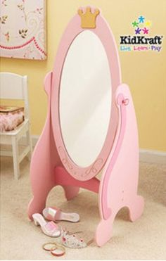 Princess mirror - girl's room.