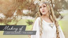MakingOf - Lady Galadriel Hobbit