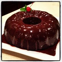 Delicious Moist Chocolate Chip Bundt Cake