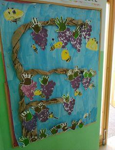 Una bonita parra que hicimos con los alumn@s de 3 y 4 años Painting, Art, Pretty, Art Background, Painting Art, Kunst, Paintings, Performing Arts, Painted Canvas