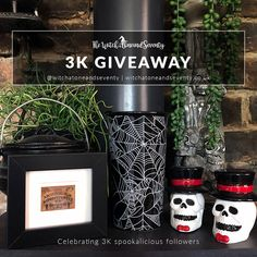 Happy Halloween Month and Giveaway news | The Witch at OneandSeventy Halloween Make, Halloween Fashion, Planting Pumpkins, Happy October, Samhain, Months In A Year, Halloween Decorations, Giveaway, Witch