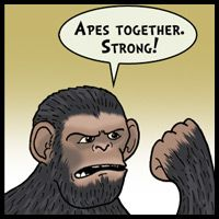 The funny comic adventures of the not-so-heroic superhero, Soopah. Planet Of The Apes, Working Together, Funny Comics, The Funny, Strong, Adventure, Superhero, Adventure Game, Adventure Books