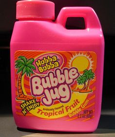 Bubble Jug Bubble Gum! Fun gum!!!