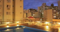 Castelmar Hotel Florianópolis Boasting an outdoor pool and an on-site bar, Castelmar Hotel welcomes you in Florianópolis offering easy access to the Hercilio Luz Bridge and only 1 km from the Public Market.