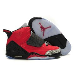 389e6e2f0b1 Authentic Air Jordan Son Of Mars Mens Shoes Red Black A22006 Jordan  Basketball