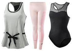 Roupas para malhar da coleção Stella McCartney for Adidas.