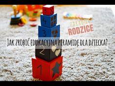 DIY | Jak zrobić edukacyjną piramidę wieżę dla dzieci? | Zaradni Rodzice