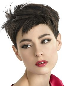 Oh so Audrey for 2011! Adorable! #hair #hairstyle #haircuts