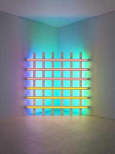 Amazing art installation by Dan Flavin which pits neon lighting against dark space. Dan Flavin was a master of letting his work speak for itself. National Gallery Of Art, Illusion Kunst, Banners, Art Of Dan, Dan Flavin, Instalation Art, Light Art Installation, Museum Of Modern Art, Art Museum