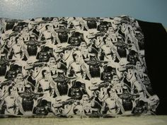 Black & White/Star Wars/Black Cuff/pillowcase by FloridaFriends on Etsy