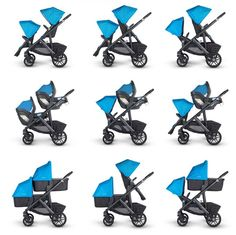 An in-depth evaluation of the four best convertible strollers for 2015: The Britax B-Ready, the Baby Jogger City Select, the Phil & Teds Navigator and the new
