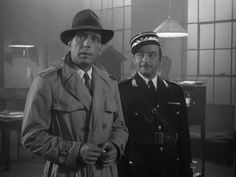 Ah, Casablanca. I can think of no better way to round out the classic movie binge we've been on than with Casablanca. Everyone has seen at least part of this movie. Casablanca Movie, Casablanca 1942, Hollywood Actor, Hollywood Stars, Classic Hollywood, Vintage Hollywood, Hollywood Glamour, Humphrey Bogart Casablanca, Detective