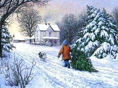 486 Best Oh Christmas Tree images | Christmas, Christmas art, Vintage christmas