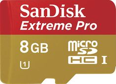 Buy SanDisk MicroSD Card 8 GB Extreme Pro Online at Best Offer Prices @ Rs. 800/- In India. Only Genuine Products. 30 Day Replacement Guarantee. Cash On Delivery!