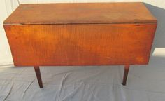 18th Century Tiger Maple Farm Table Original Condition | eBay