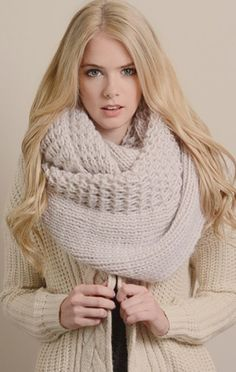 28 Best Sweater Scarfs images   Scarf knit, Sweater scarf, Dressing up 7f8325f4220