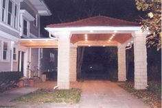 11 Best Covered Driveways Images Porte Cochere Carport Designs Circular Driveway