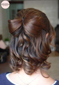 Lacinho * Tie hairstyle