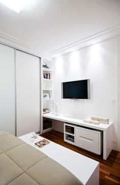 Ambientes inspiradores com armários planejados   Revista Casa Linda
