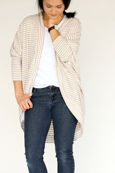 Carrie Cardigan Pattern – The Sew What Club