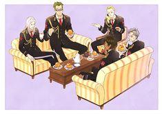 組織に生きる、男たちの粋様(いきざま)。オノ・ナツメ原作のドラマチック群像エンタテインメント『ACCA13区監察課』2017年1月よりTVアニメ放送開始 Me Me Me Anime, Anime Love, Anime Guys, Manga Anime, Anime Art, Art Pictures, Manhwa, Geek Stuff, Animation