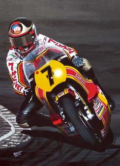 Sheene's battle with Kenny Roberts at the 1979 British Grand Prix at Silverstone has been cited as one of the greatest motorcycle Grand Prix races of the After the 1979 season, he left the Heron-Suzuki factory team, believing that he was receiving Motorcycle Racers, Suzuki Motorcycle, Moto Bike, Side Car, Japanese Motorcycle, British Grand Prix, Old Bikes, Racing Motorcycles, Classic Bikes