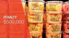 Whole Foods pays $500,000 to settle probe into overcharging - Dec. 28, 2015