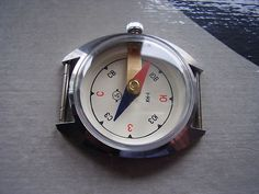 Unusual USSR wrist compass