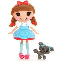 Mini Lalaloopsy Doll, Dotty Gale Winds: The Wizard of Oz minis, new for I have to find this. Lalaloopsy Mini, Up Game, Button Flowers, Blue Bow, Games For Girls, Wizard Of Oz, Cute Dolls, Doll Toys, Poodle