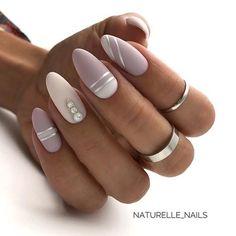 Stylish Acrylic Short Nails For Summer Nails Design. Acrylic short acrylic nails become more and mor Natural Almond Nails, Short Almond Nails, Short Nails, Square Nail Designs, Short Nail Designs, Chic Nail Designs, Art Designs, Stiletto Nails, Gel Nails