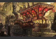 Mixed Portfolio by Francis Göltner | Fantasy | 2D | CGSociety
