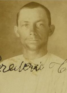 Frederick Turbe, 28 years old, Born in St. Barths as well as both parents. Pinned by VintageVirginIslands.com