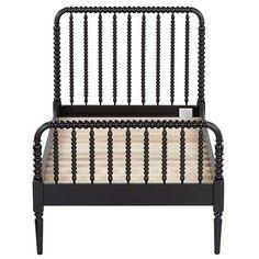 jenny lind black bed - Spindle Bed