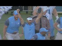 """10/1/2016 """"Nick Weiler nails the 54-yard field goal as time expired to give the Tar Heels the improbable 37-35 road victory against Florida State on October 1, 2016."""""""