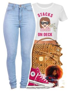 """""""I want this shirt!!!"""" by beautifulme078 ❤ liked on Polyvore featuring MCM, NARS Cosmetics and Converse"""
