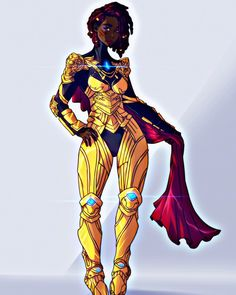 Skins Characters, Black Anime Characters, Fantasy Characters, Comic Character, Character Design, Black Women Art, Black Art, Systems Art, Different Shades Of Black