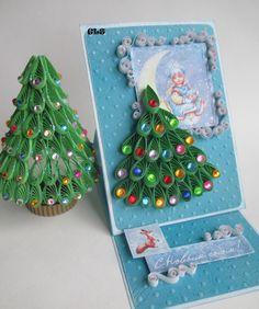 GLS2007: Новогоднее. Открытка и елочка