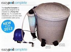 EZ Pod Complete  http://www.koidepot.com/EZ-Pod-Complete-Pond-Filtration-NEXUS-sc-845.html