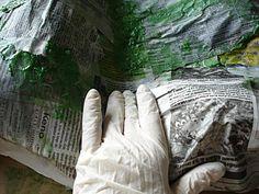 TUTORIEL POUR CREER UN DECOR DE NOEL 1/2 et 2/2 (http://santons-et-creches-de-provence.over-blog.fr/article-25040591.html)