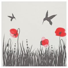 Shop Artsy Red Poppies and Hummingbirds Fabric created by riverme. Hummingbird Art, Free Vector Illustration, Illustrations, Pink Poppies, Botanical Art, Find Art, Framed Artwork, Printing On Fabric, Giclee Print