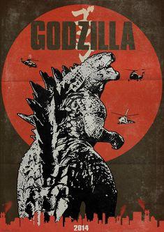 Godzilla - movie poster - Guatam Singh Rawat