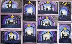 that artist woman: This Year's Nativity Projects - TONS of awesome project ideas for kiddos.